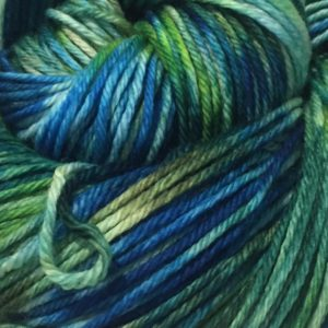 hand dyed double knit merino yarn