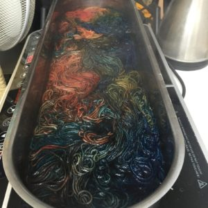 dyeing workshop - kettle dyeing