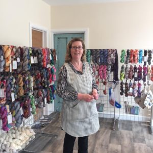 yarn shop in Derbyshire