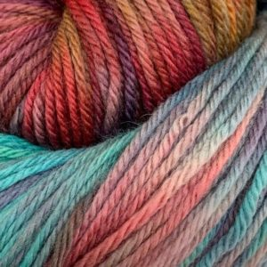 Hand dyed merino double knit yarn