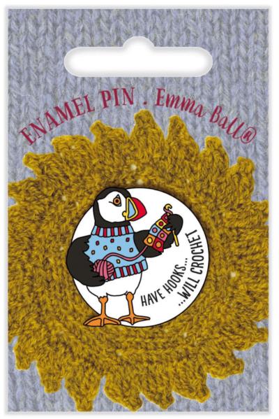 Puffin Enamel Pin
