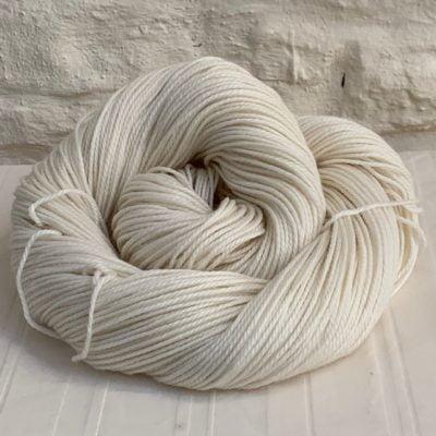 Undyed Double Knit (DK) Merino/Nylon Yarn