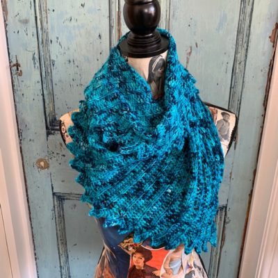 The Crochet Project - Frond Shawl