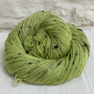 Hand dyed merino nep sock yarn