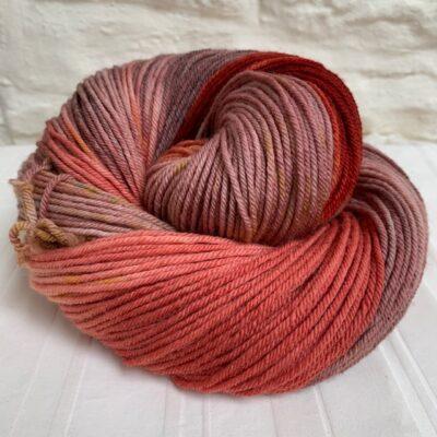 Hand dyed merino double knit DK yarn