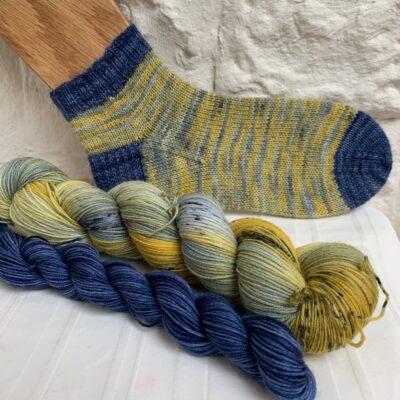 Hand dyed sock yarn club subscription