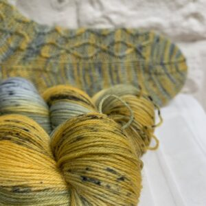 Hand dyed sock yarn club subscription