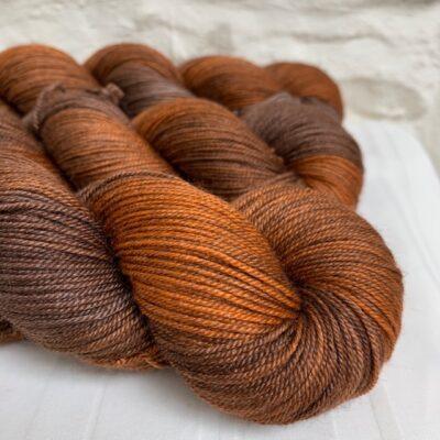 Hand Dyed Silk Yak Merino Yarn