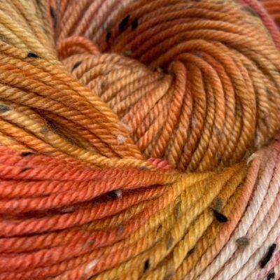 Hand dyed merino nep double knit DK yarn